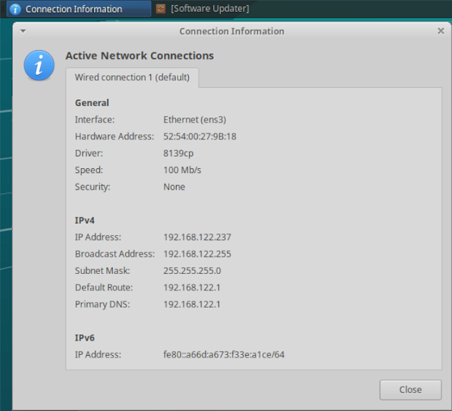 Finding Local IP Address on GTK