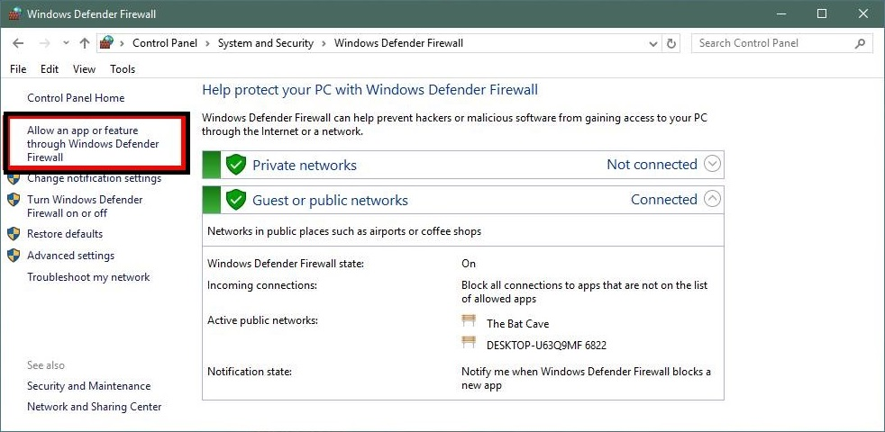HOW TO REMOVE APPS FROM WINDOWS DEFENDER