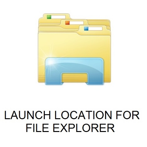 HOW TO SET DEFAULT LAUNCH LOCATION FOR FILE EXPLORER