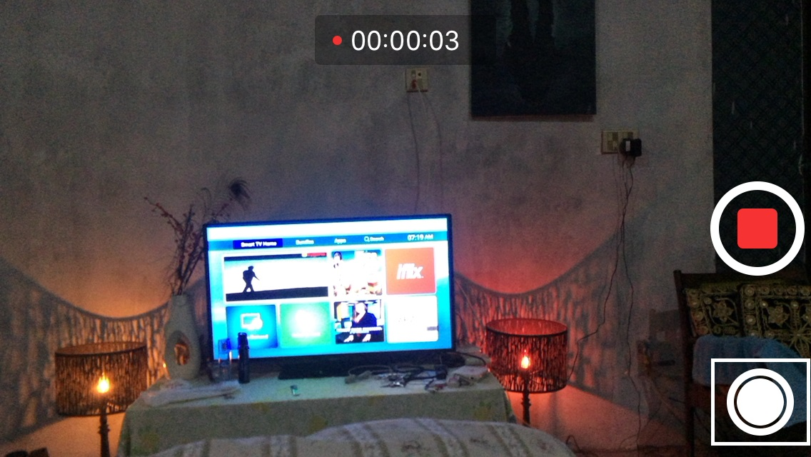 Capture Photos While Recording Videos on iPhone