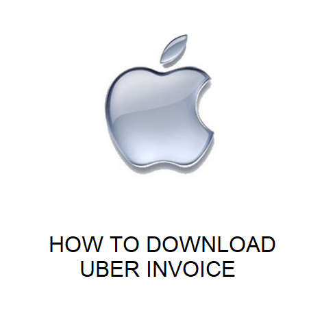 HOW TO DOWNLOAD UBER INVOICE
