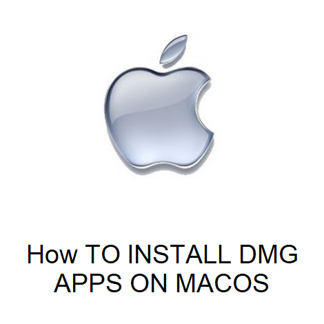 How TO INSTALL DMG APPS ON MACOS