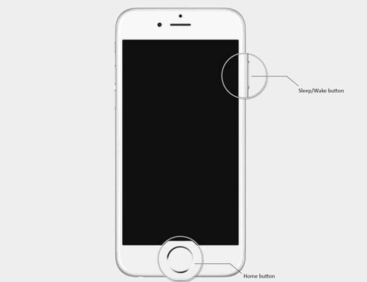 Force Restart iPhone 6