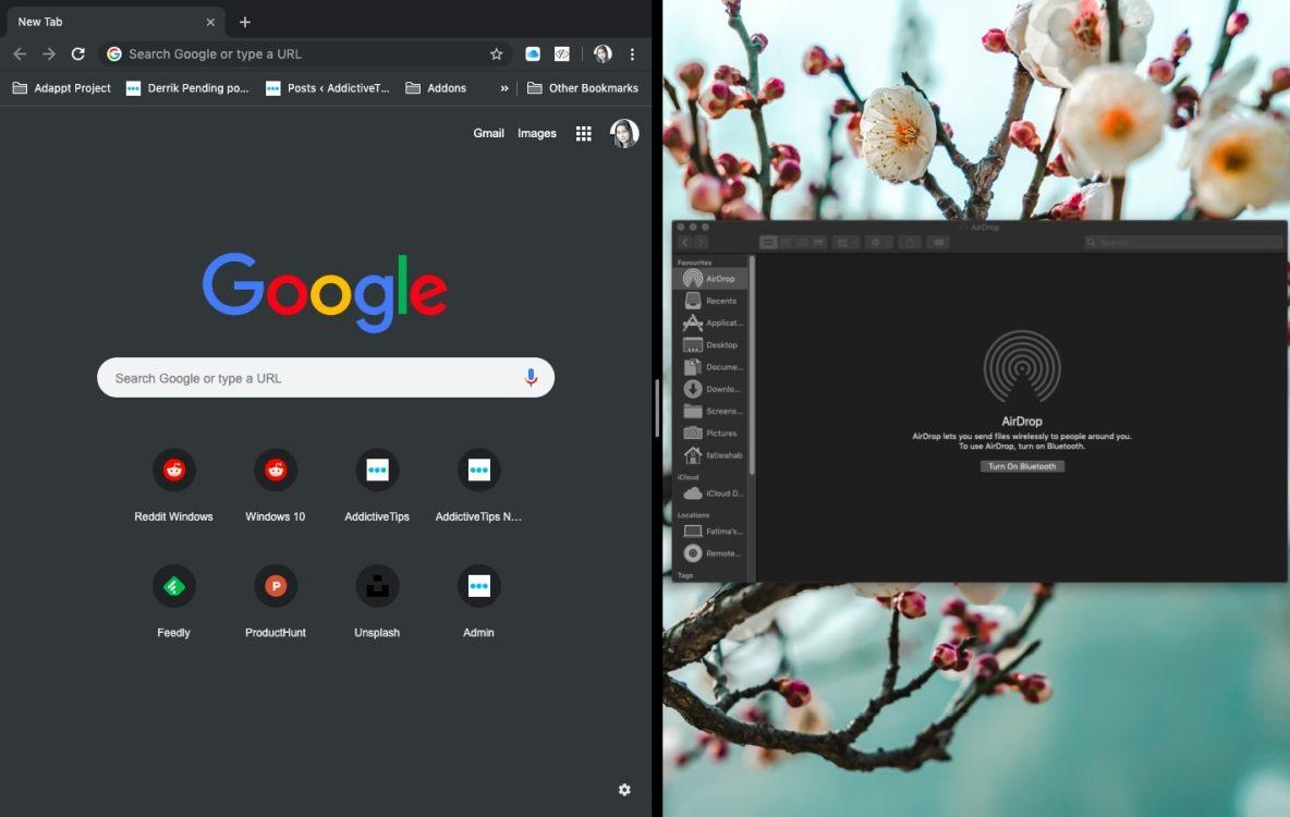 Full screen macOS Pinned Apps