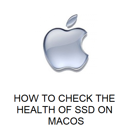 HOW TO CHECK THE HEALTH OF SSD ON MACOS
