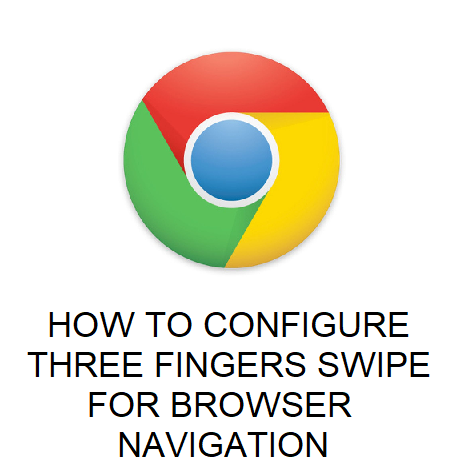 HOW TO CONFIGURE THREE FINGERS SWIPE FOR BROWSER NAVIGATION