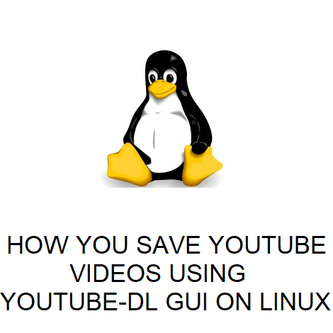 HOW YOU SAVE YOUTUBE VIDEOS USING YOUTUBE-DL GUI ON LINUX