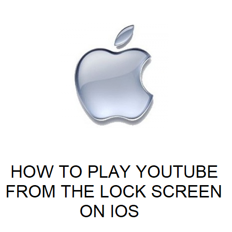How to play YouTube from the lock screen on iOS