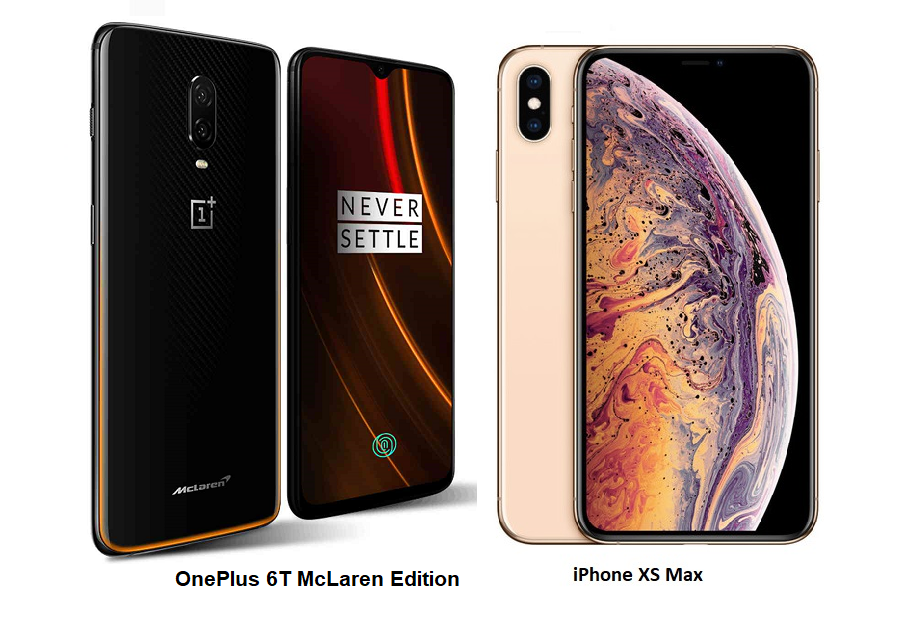 OnePlus 6T McLaren Edition VS iPhone XS Max