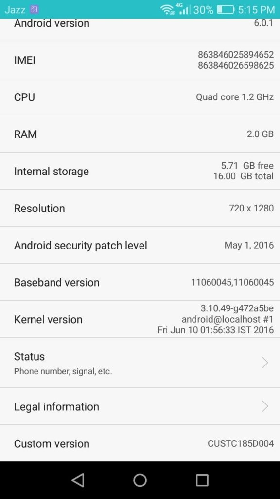 Android Information