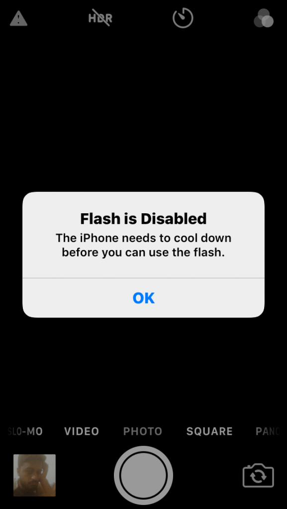 Disabled Flash