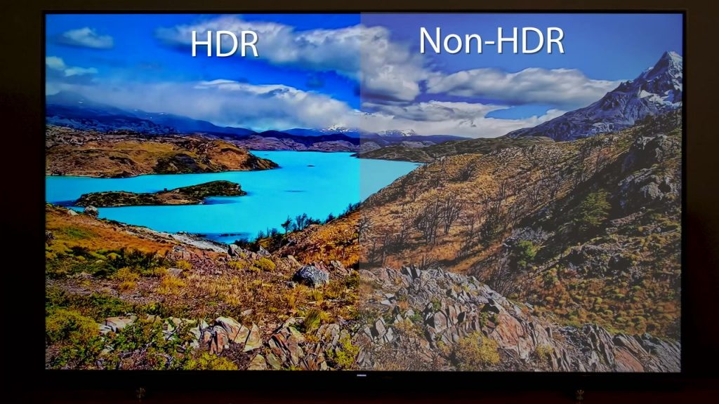 HDR and Non-HDR