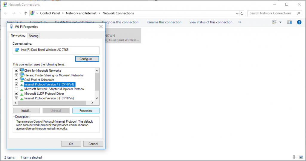 Wireless Network Connection Doesn T Have A Valid Ip Configuration >> Windows 10 Wi-Fi Doesn't Have a Valid IP Configuration ...
