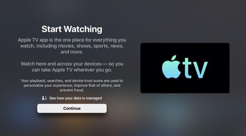 TV App in iOS 12.3.1