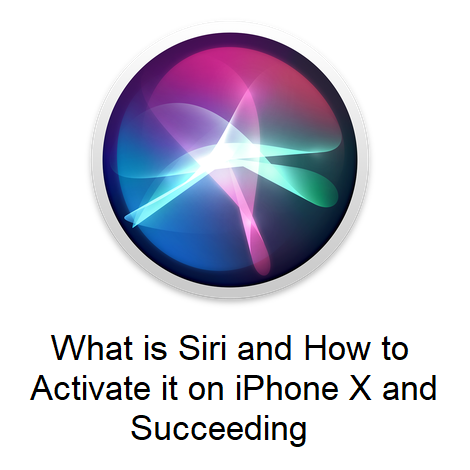 What is Siri and How to Activate it on iPhone X and Succeeding