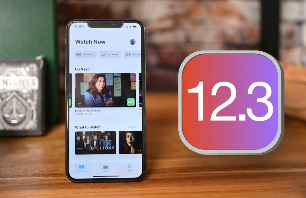 iOS 12.3.1 Update