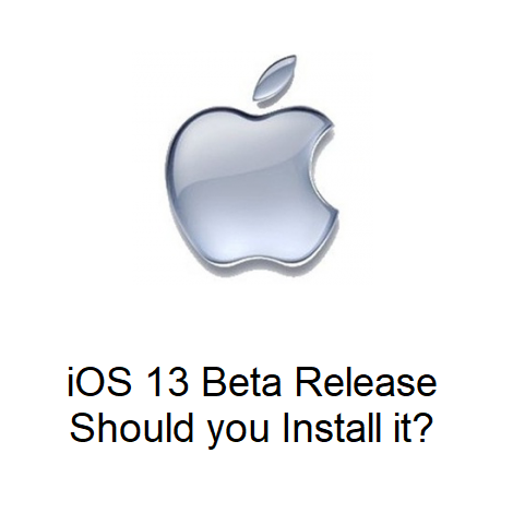 iOS 13 Beta Release – Should you Install it