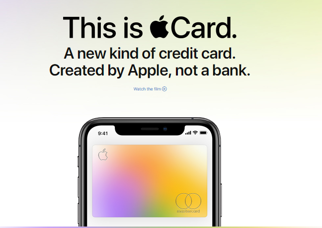 Apple card and ios 12.4
