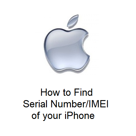 How to Find Serial Number/IMEI of your iPhone