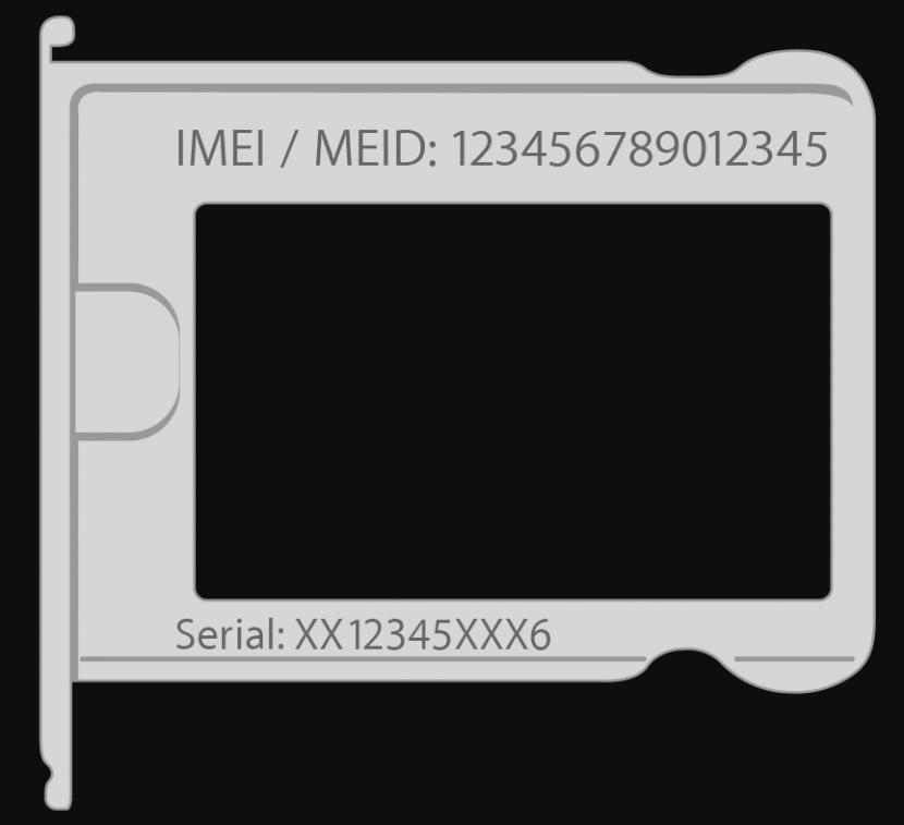 Serial number on sim card