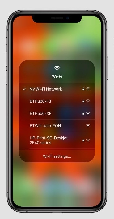 iOS 13 Wi-Fi Connections