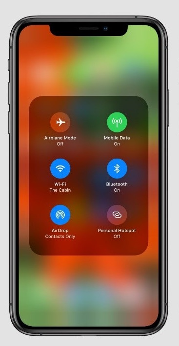 iOS 13 connections