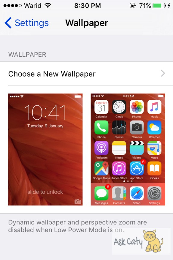 How to Set Dynamic Wallpaper on an iPhone or iPad 4