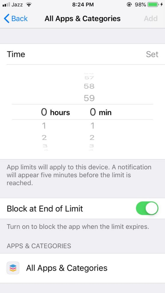 set Time Limit