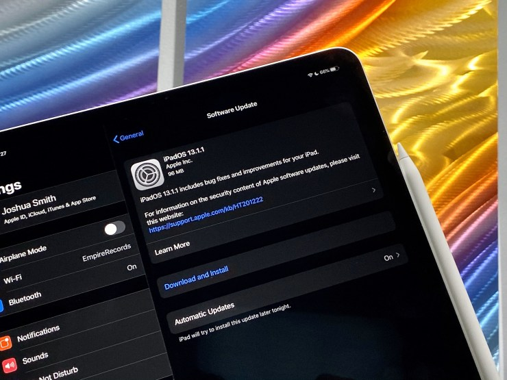 Download iPadOS 13.1
