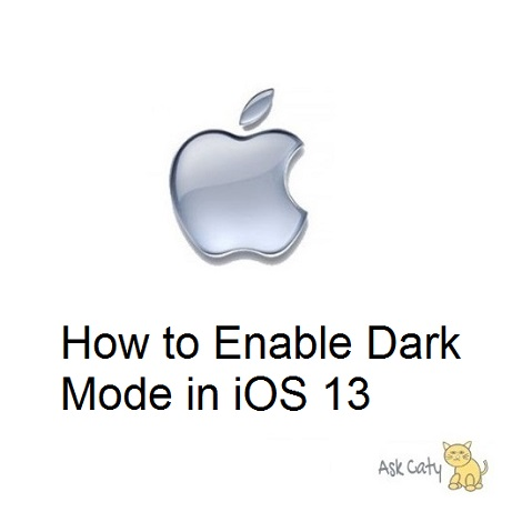 How to Enable Dark Mode in iOS 13
