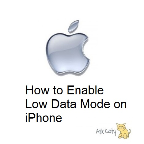 How to Enable Low Data Mode on iPhone