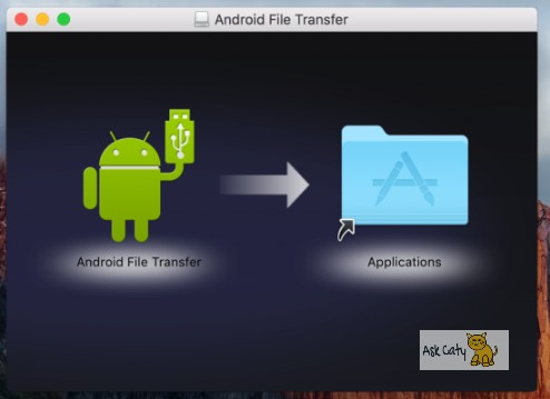 How to transfer files from Android to Mac OS -1