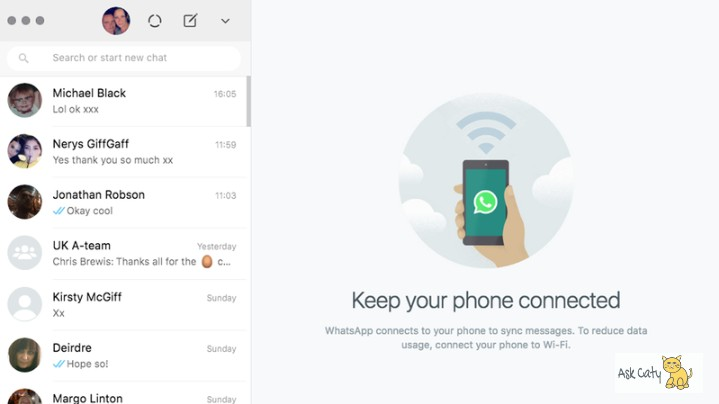 How to use WhatsApp web on PC