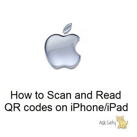 How to Scan and Read QR codes on iPhone/iPad