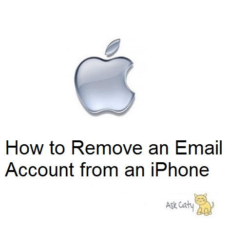 How to Remove an Email Account from an iPhone