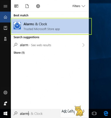 How to Set Alarm in Windows 10- 2