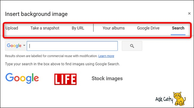 How to Change the Background in Google Slides- 3