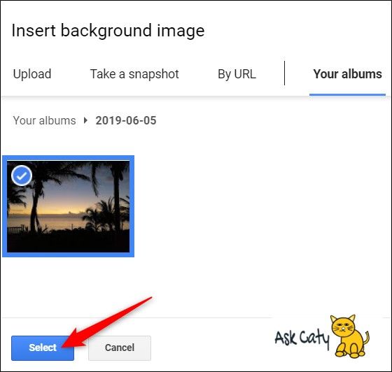 How to Change the Background in Google Slides- 4