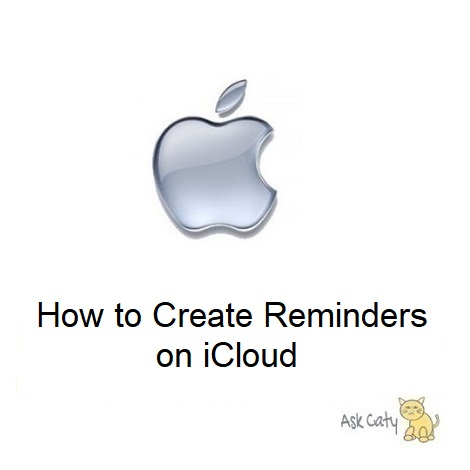 How to Create Reminders on iCloud