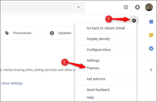 dark mode for gmail desktop app