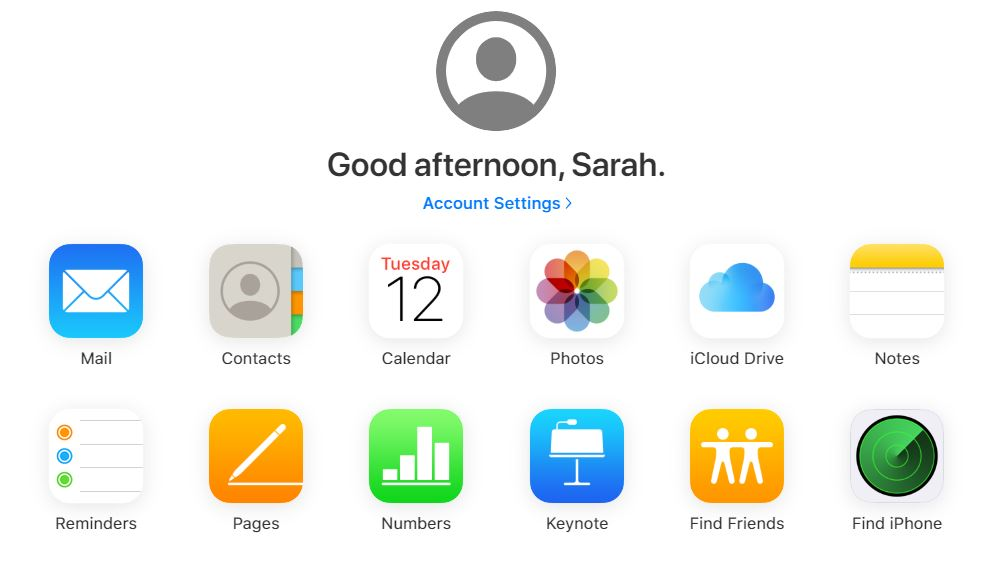 icloud new layout