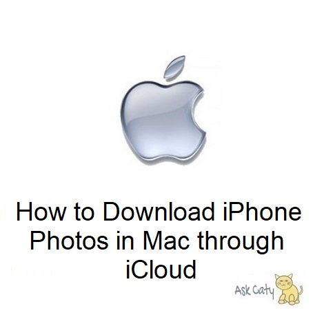 How to Download iPhone Photos in Mac through iCloud