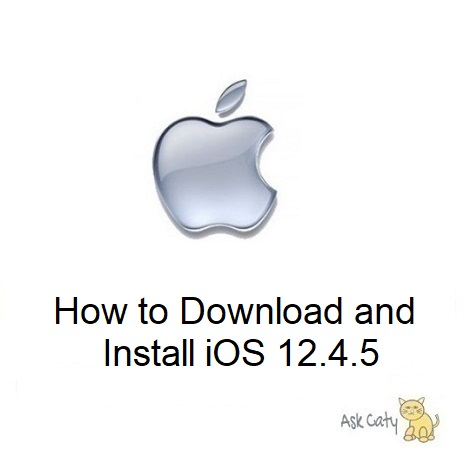 How to Download and Install iOS 12.4.5