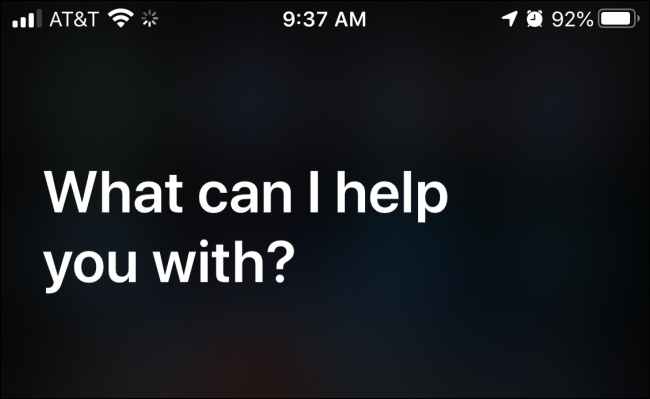 launching siri in ios devices