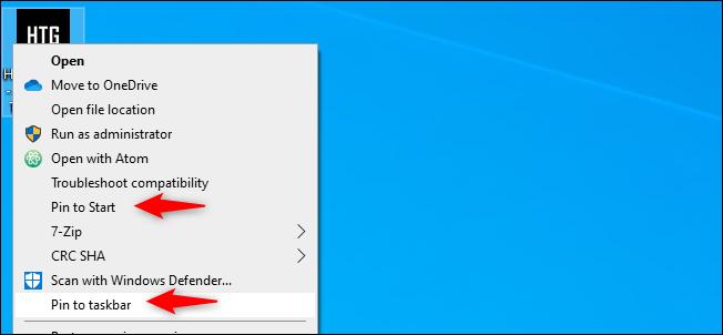 pin the website shortcut to taskbar or start menu
