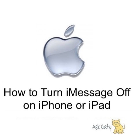 How to Turn iMessage Off on iPhone or iPad