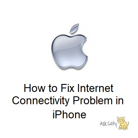 How to Fix Internet Connectivity Problem in iPhone