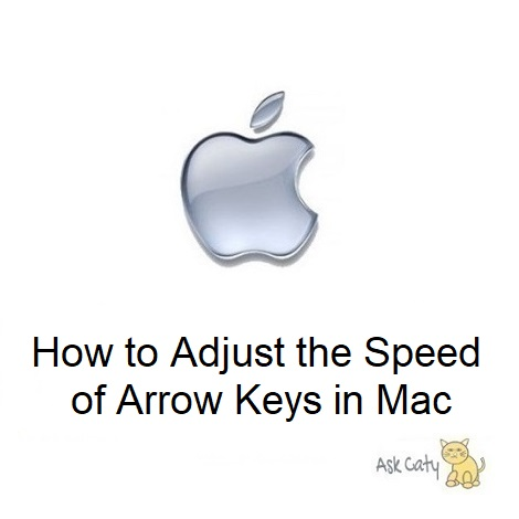 How to Adjust the Speed of Arrow Keys in Mac