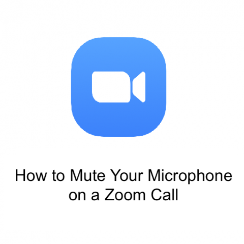 How to Mute Your Microphone on a Zoom Call