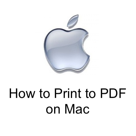 How to Print to PDF on Mac